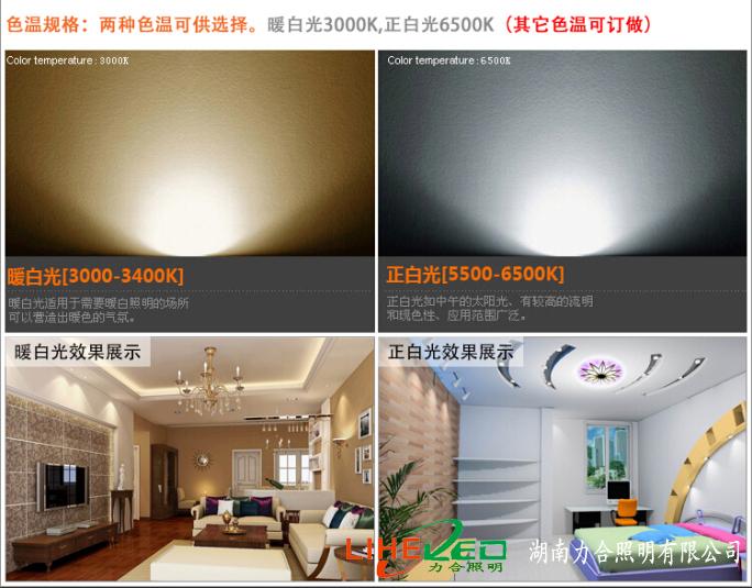 LED室内射灯照明系列